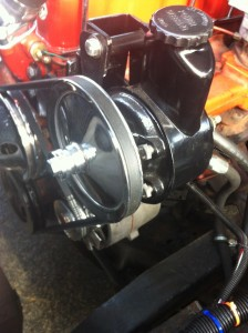 Power Steering Pump in a 1963 Chevrolet C10
