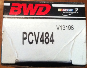 BWD PCV484 is a replacement for GM 12572717 and is available at Advanced Auto